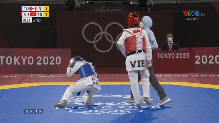 Đổ cả máu nhưng Trương Thị Kim Tuyền vẫn dừng bước tại bộ môn Taekwondo Olympic Tokyo 2020 - Ảnh 3.