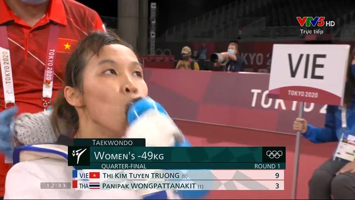Bất lợi thể hình khiến Trương Thị Kim Tuyền để thua hạt giống số 1  - Ảnh 5.