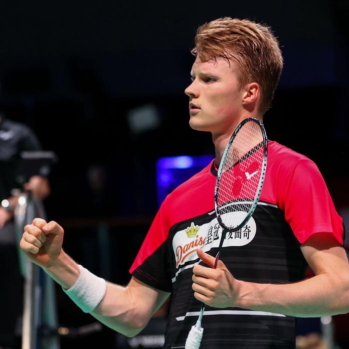 Tiến Minh không thể tạo bất ngờ trước tay vợt đứng thứ 3 thế giới người Đan Mạch - Ảnh 2.