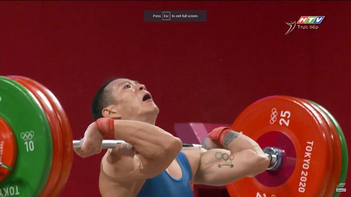 Liên tục để rơi tạ, niềm hy vọng Thạch Kim Tuấn không được tính thành tích tại Olympic 2020 - Ảnh 9.