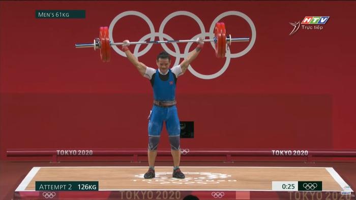 Liên tục để rơi tạ, niềm hy vọng Thạch Kim Tuấn không được tính thành tích tại Olympic 2020 - Ảnh 4.