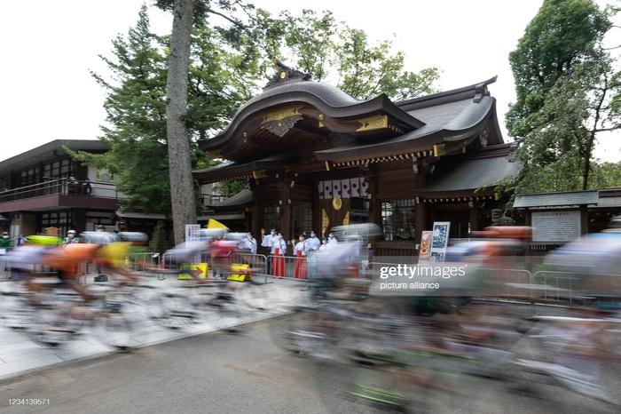 Ngắm cảnh thiên nhiên Nhật Bản tuyệt đẹp qua nội dung xe đạp Olympic Tokyo 2020 - Ảnh 2.