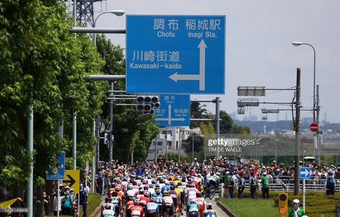 Ngắm cảnh thiên nhiên Nhật Bản tuyệt đẹp qua nội dung xe đạp Olympic Tokyo 2020 - Ảnh 4.
