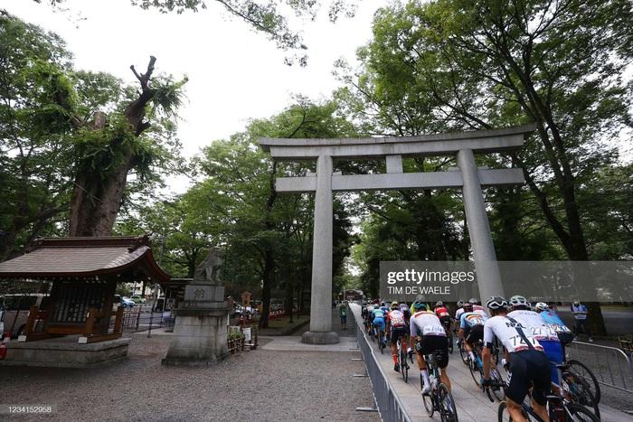 Ngắm cảnh thiên nhiên Nhật Bản tuyệt đẹp qua nội dung xe đạp Olympic Tokyo 2020 - Ảnh 3.