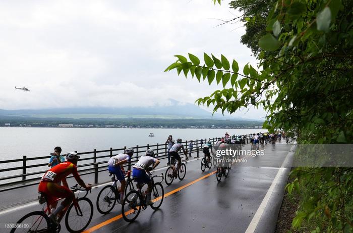 Ngắm cảnh thiên nhiên Nhật Bản tuyệt đẹp qua nội dung xe đạp Olympic Tokyo 2020 - Ảnh 7.