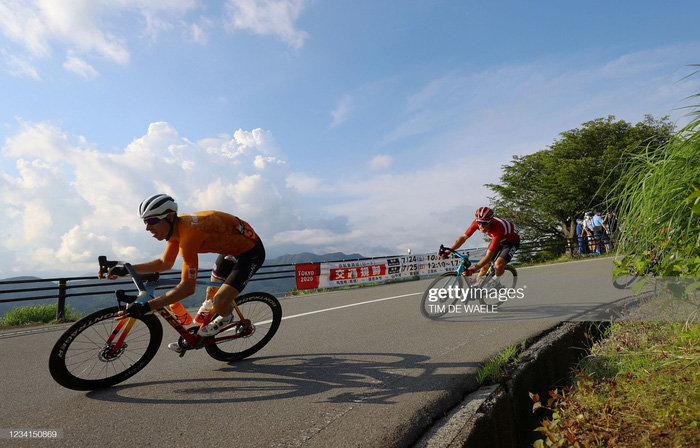 Ngắm cảnh thiên nhiên Nhật Bản tuyệt đẹp qua nội dung xe đạp Olympic Tokyo 2020 - Ảnh 8.