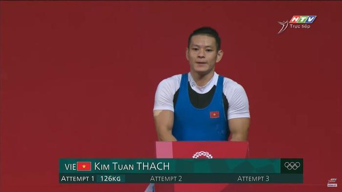Liên tục để rơi tạ, niềm hy vọng Thạch Kim Tuấn không được tính thành tích tại Olympic 2020 - Ảnh 1.