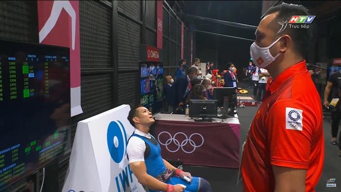 Liên tục để rơi tạ, niềm hy vọng Thạch Kim Tuấn không được tính thành tích tại Olympic 2020 - Ảnh 3.