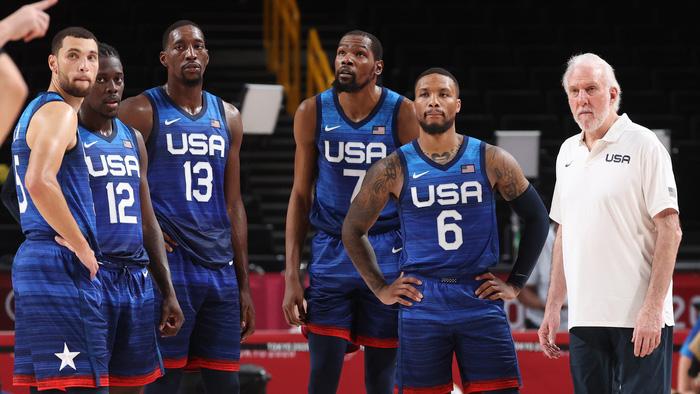 Thua mất mặt trong ngày ra quân, đội tuyển bóng rổ Mỹ biện minh thế nào? - Ảnh 3.