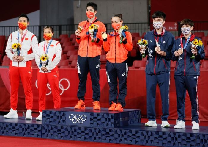 Ngược dòng kịch, Nhật Bản có huy chương vàng bóng bàn đầu tiên tại Olympic Tokyo 2020. - Ảnh 3.