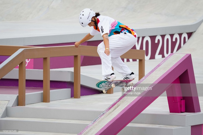 Olympic Tokyo chứng kiến nhà vô địch 13 tuổi - Ảnh 1.