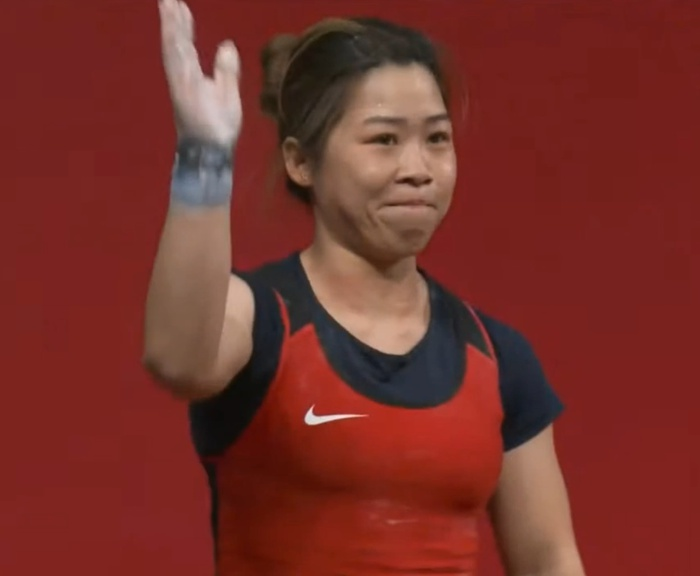 Xúc động khoảnh khắc Hoàng Thị Duyên vẫy tay chào tạm biệt giấc mơ Olympic Tokyo 2020 - Ảnh 11.