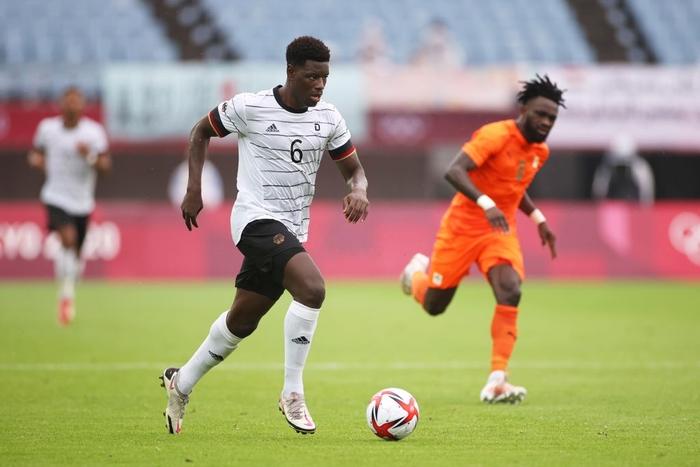 Bị Olympic Bờ Biển Ngà cầm hòa 1-1, Olympic Đức ngậm ngùi rời Thế vận hội ngay sau vòng bảng - Ảnh 6.