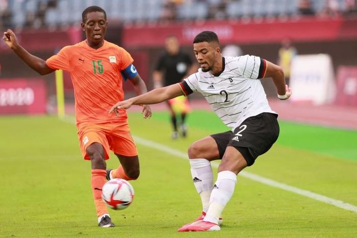 Bị Olympic Bờ Biển Ngà cầm hòa 1-1, Olympic Đức ngậm ngùi rời Thế vận hội ngay sau vòng bảng - Ảnh 7.