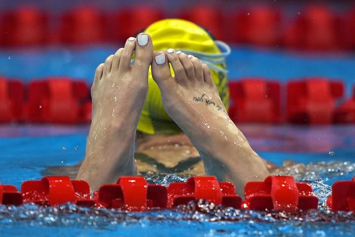 Những hình xăm ấn tượng ở Olympic Tokyo 2020 và điều cấm kỵ trong văn hoá Nhật Bản - Ảnh 5.