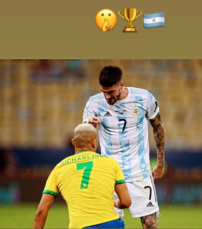 Bị loại từ vòng bảng, Olympic Argentina bị Olympic Brazil cà khịa - Ảnh 4.