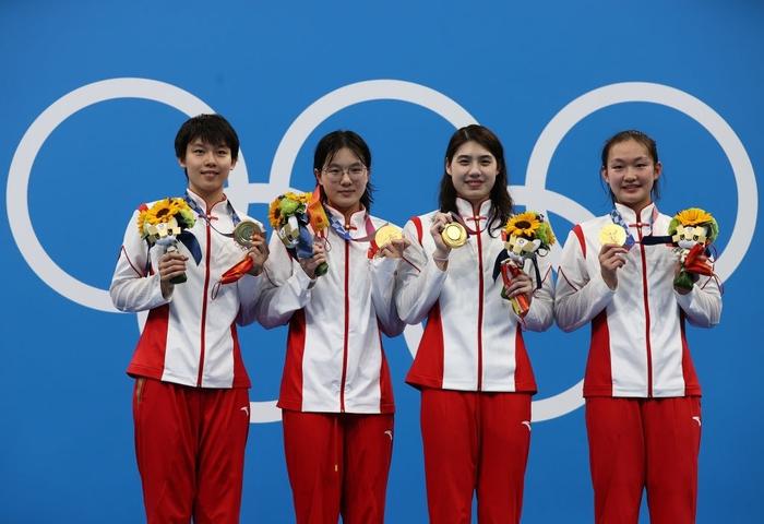 Nét đáng yêu gây thương nhớ của nữ thần bơi lội Trung Quốc giành 2 HCV Olympic - Ảnh 9.