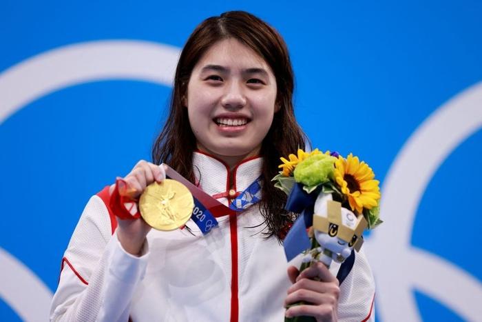 Nét đáng yêu gây thương nhớ của nữ thần bơi lội Trung Quốc giành 2 HCV Olympic - Ảnh 1.