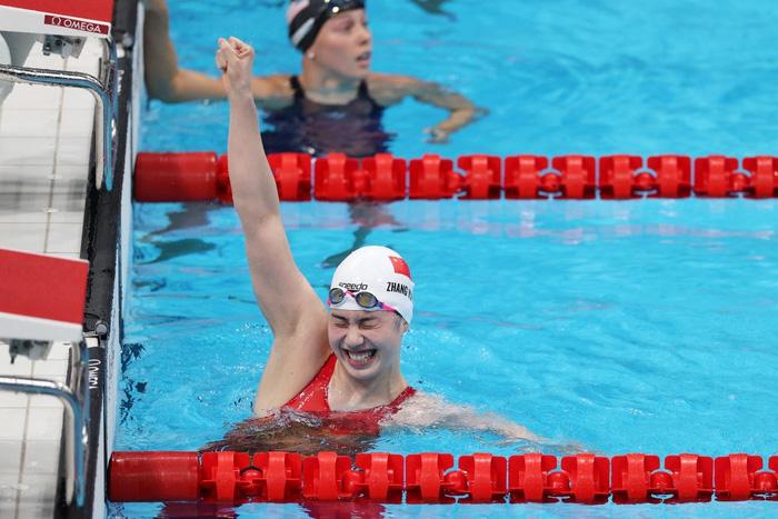 Nét đáng yêu gây thương nhớ của nữ thần bơi lội Trung Quốc giành 2 HCV Olympic - Ảnh 2.