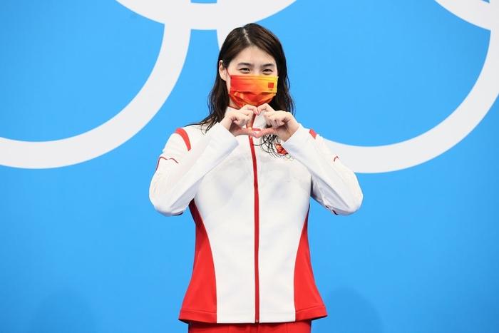Nét đáng yêu gây thương nhớ của nữ thần bơi lội Trung Quốc giành 2 HCV Olympic - Ảnh 7.