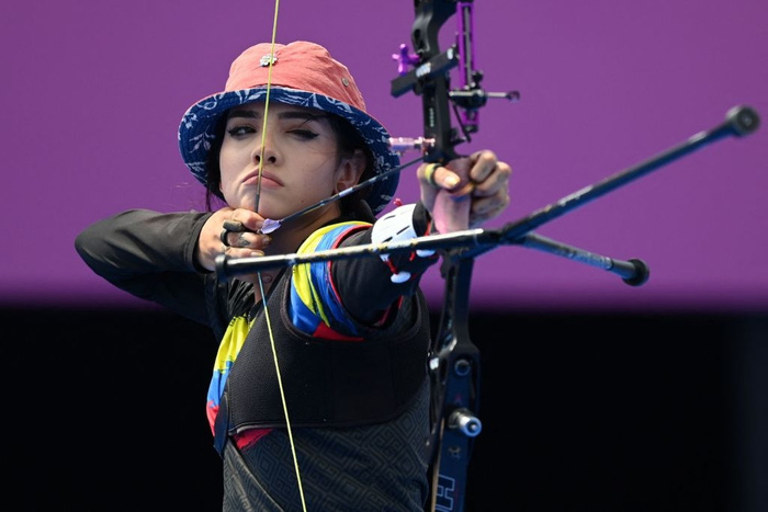 Nữ thần bắn cung xuất hiện khiến Olympic bừng sáng, sau khi bị loại sớm cô tiết lộ một điều khiến các fan tan nát - ảnh 3