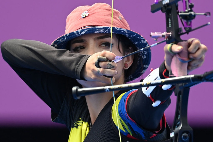 Nữ thần bắn cung xuất hiện khiến Olympic bừng sáng, sau khi bị loại sớm cô tiết lộ một điều khiến các fan tan nát - ảnh 2