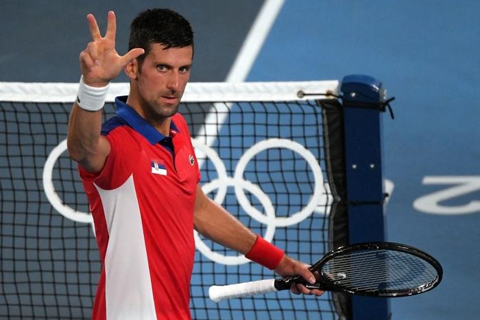 Đánh bại niềm hy vọng cuối cùng của chủ nhà Nhật Bản, Djokovic tiến vào bán kết Olympic - Ảnh 7.