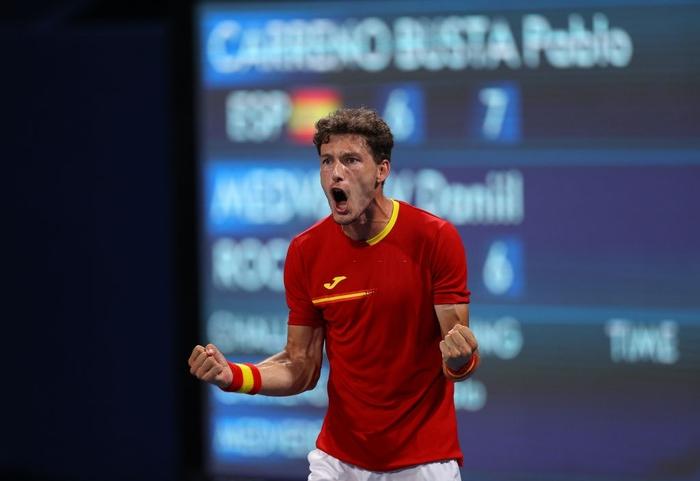 Đánh bại niềm hy vọng cuối cùng của chủ nhà Nhật Bản, Djokovic tiến vào bán kết Olympic - Ảnh 9.