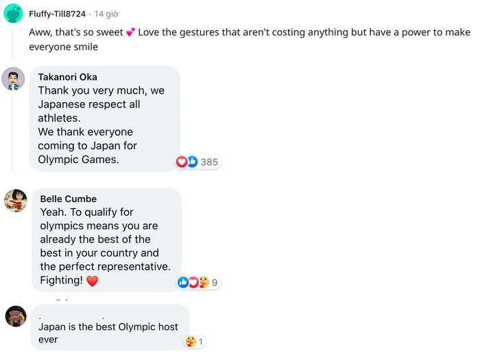Cộng đồng quốc tế cảm kích trước thông điệp tuyệt vời của CĐV Nhật Bản tại Olympic Tokyo 2020 - Ảnh 3.