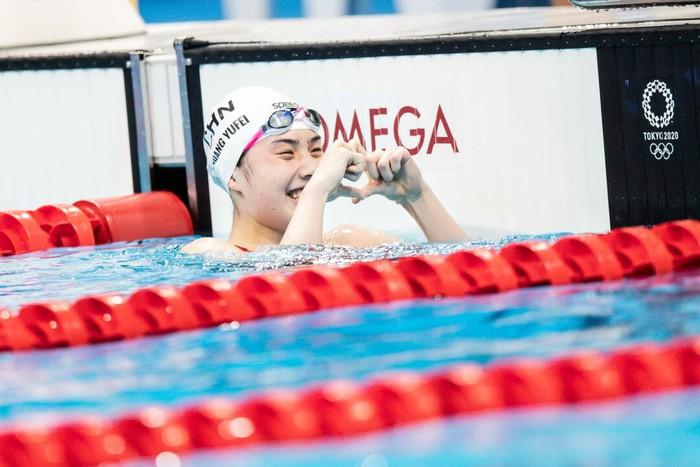 Nét đáng yêu gây thương nhớ của nữ thần bơi lội Trung Quốc giành 2 HCV Olympic - Ảnh 3.