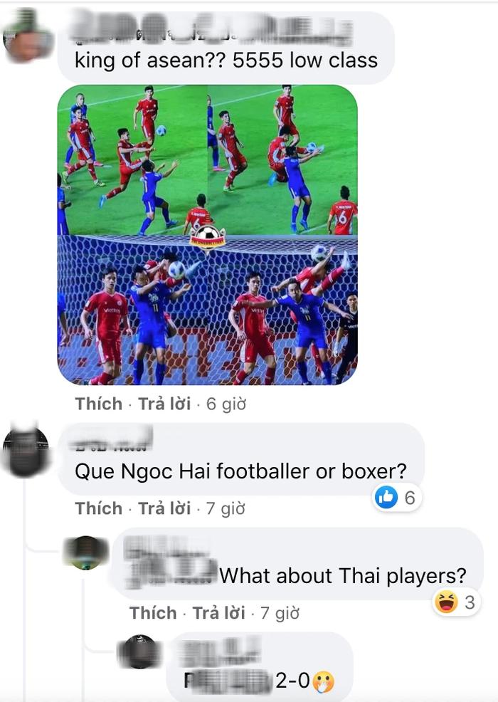 Fan Thái Lan kéo vào fanpage Viettel cà khịa Quế Ngọc Hải, khẳng định Việt Nam vẫn sợ Thái Lan thôi - Ảnh 1.