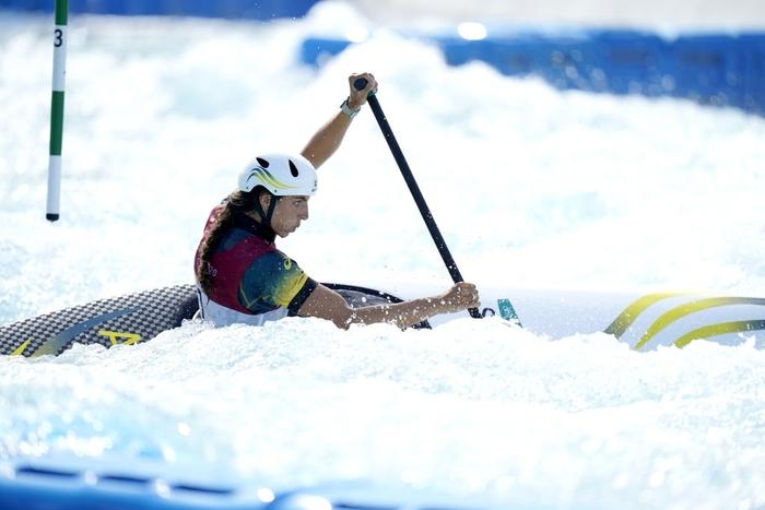 Dùng bao cao su theo cách không ai ngờ, VĐV chèo thuyền Australia giành HCĐ Olympic - ảnh 3