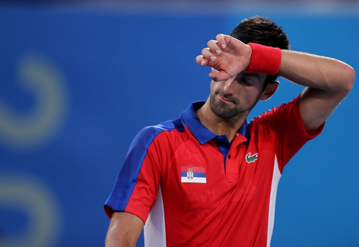 Cú sốc lớn nhất Olympic ngày 30/7: Tay vợt số 1 thế giới lại bị dớp bán kết đè, tan vỡ giấc mơ Vàng Thế vận hội - Ảnh 7.