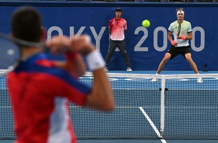 Cú sốc lớn nhất Olympic ngày 30/7: Tay vợt số 1 thế giới lại bị dớp bán kết đè, tan vỡ giấc mơ Vàng Thế vận hội - Ảnh 6.