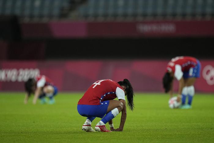 Những khoảnh khắc trào nước mắt của người chiến thắng, kẻ chiến bại tại Olympic Tokyo 2020 - ảnh 12