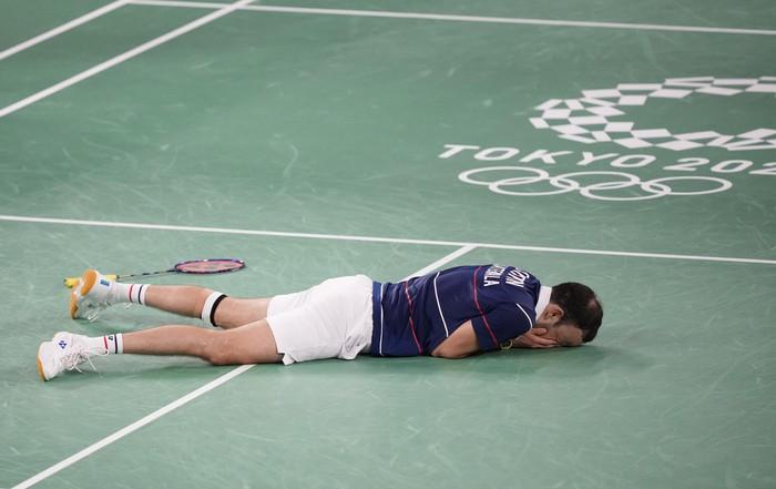 Những khoảnh khắc trào nước mắt của người chiến thắng, kẻ chiến bại tại Olympic Tokyo 2020 - ảnh 7