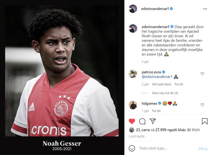 Sao trẻ Ajax và anh trai qua đời vì tai nạn giao thông - Ảnh 2.