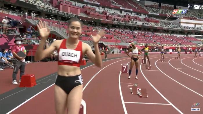 2 VĐV bị loại vì phạm quy, Quách Thị Lan giành vé vào bán kết 400m vượt rào nữ Olympic Tokyo 2020 - Ảnh 1.
