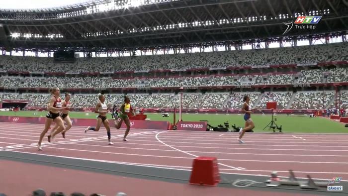 2 VĐV bị loại vì phạm quy, Quách Thị Lan giành vé vào bán kết 400m vượt rào nữ Olympic Tokyo 2020 - Ảnh 2.