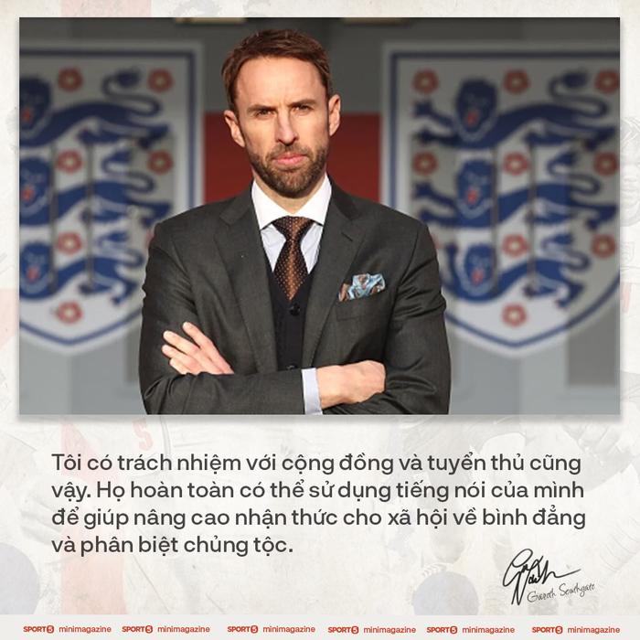 Tâm thư của HLV Gareth Southgate viết cho nước Anh - Ảnh 6.
