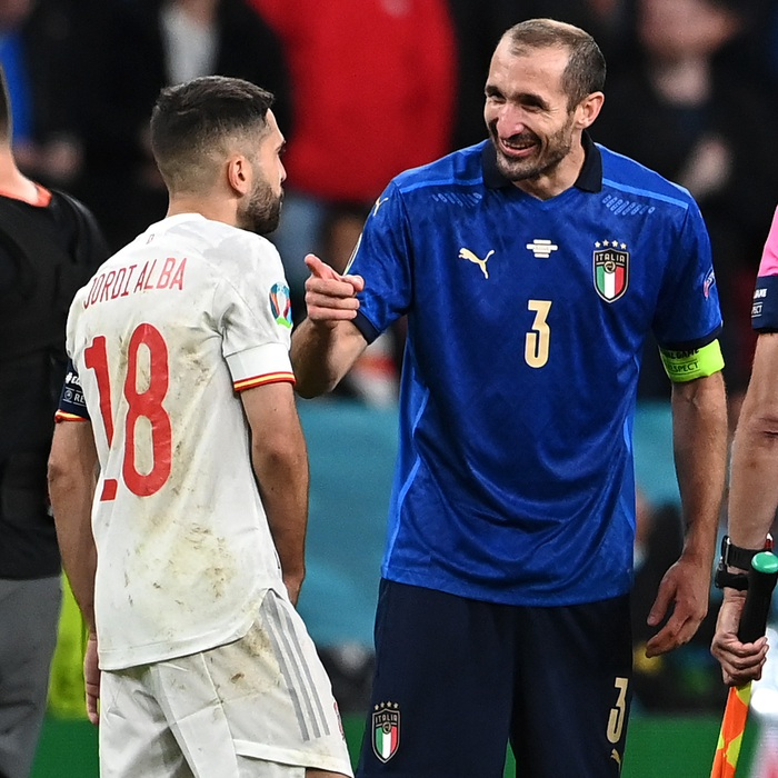 Chấm điểm cầu thủ Italy vs Tây Ban Nha: Tiêu điểm cựu binh - Ảnh 2.