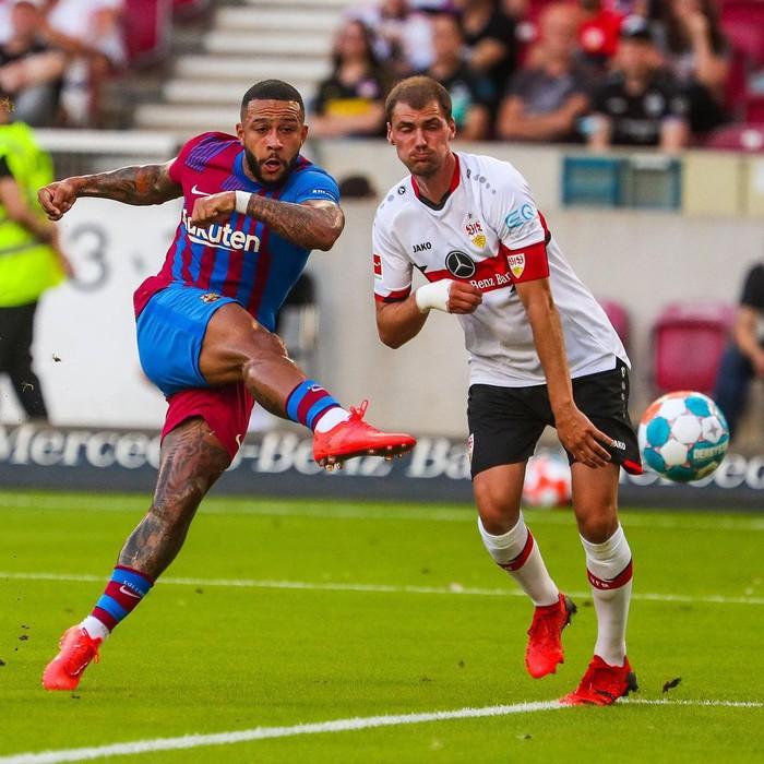Depay xử lý đẳng cấp, ghi 2 bàn trong 2 trận đầu tiên ở Barcelona - Ảnh 3.