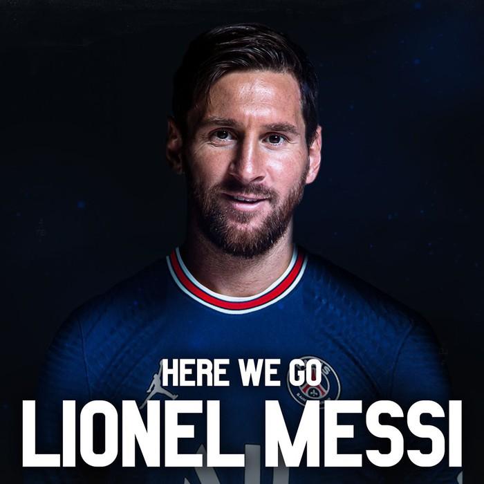 NÓNG: Messi trở thành tân binh của PSG - Ảnh 1.