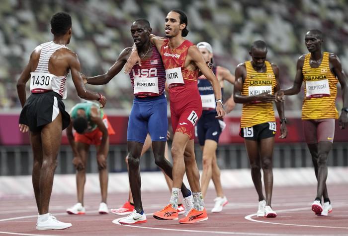 Ảnh Olympic Tokyo 2020: Sự tử tế, lòng đồng cảm tạo nên kỳ Thế vận hội đầy nhân văn - Ảnh 15.