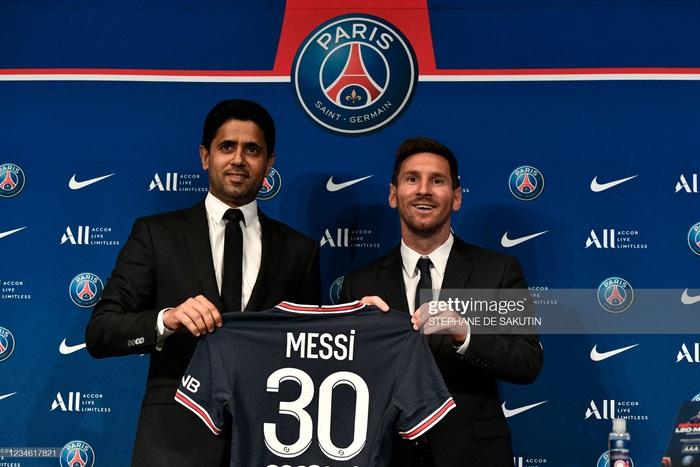Messi nói gì trong buổi họp báo ra mắt Paris Saint-Germain? - Ảnh 3.