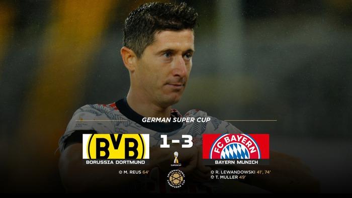 Destroying Dortmund, Bayern Munich raised the German Super Cup title - Photo 1.