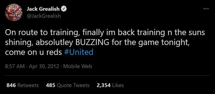 """Grealish xóa tweet """"dìm hàng"""" Manchester City - Ảnh 2."""