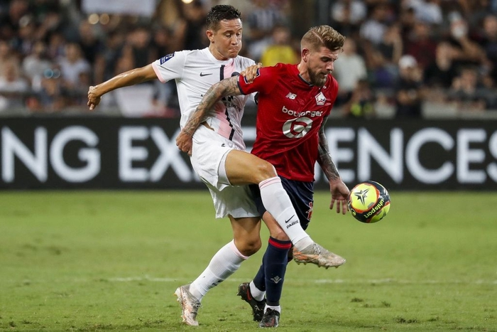 """Lille 0-1 PSG: """"Gã nhà giàu"""" tỏ ra yếu đuối trước đương kim quán quân Ligue 1 - Ảnh 1."""