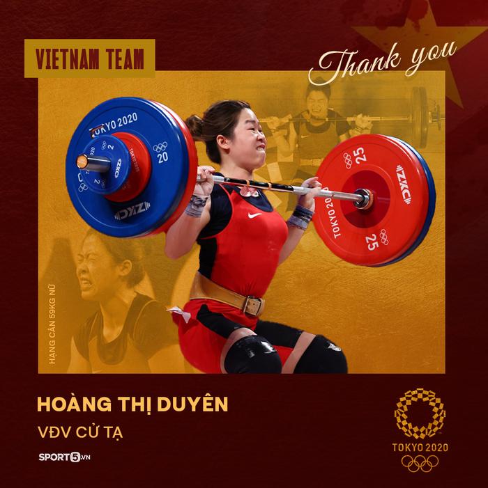 Xin cảm ơn! Những đại diện của thể thao Việt Nam tại Olympic Tokyo 2020 - Ảnh 5.