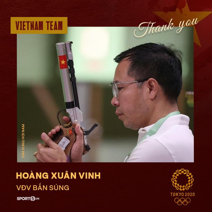 Xin cảm ơn! Những đại diện của thể thao Việt Nam tại Olympic Tokyo 2020 - Ảnh 3.